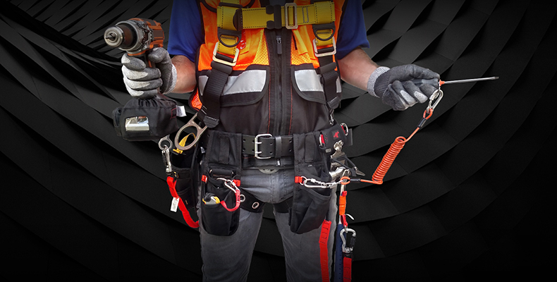 Tool tether kits from Pure Safety Groups Stronghold line up