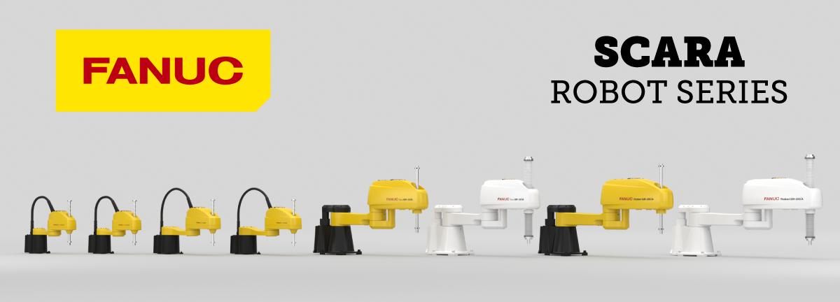 FANUC Scara Robot Lineup_1200X432(1)